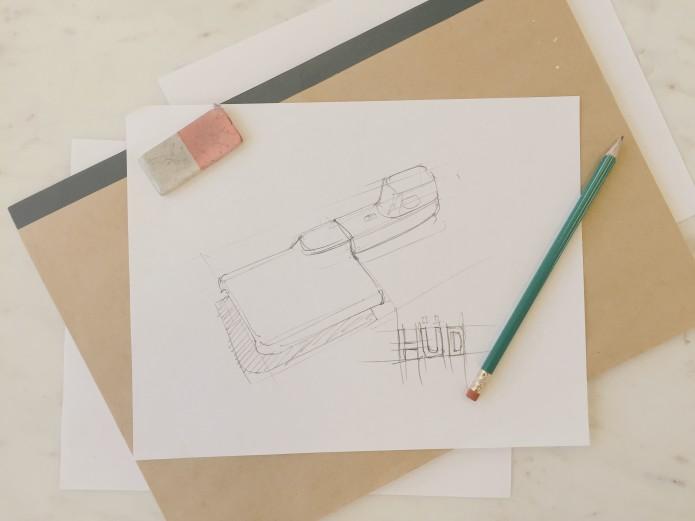 Prototype HUD Sketch Dermoscope Dermatoscope