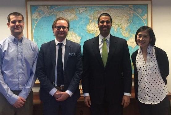 FCC meets Commissioner Pai