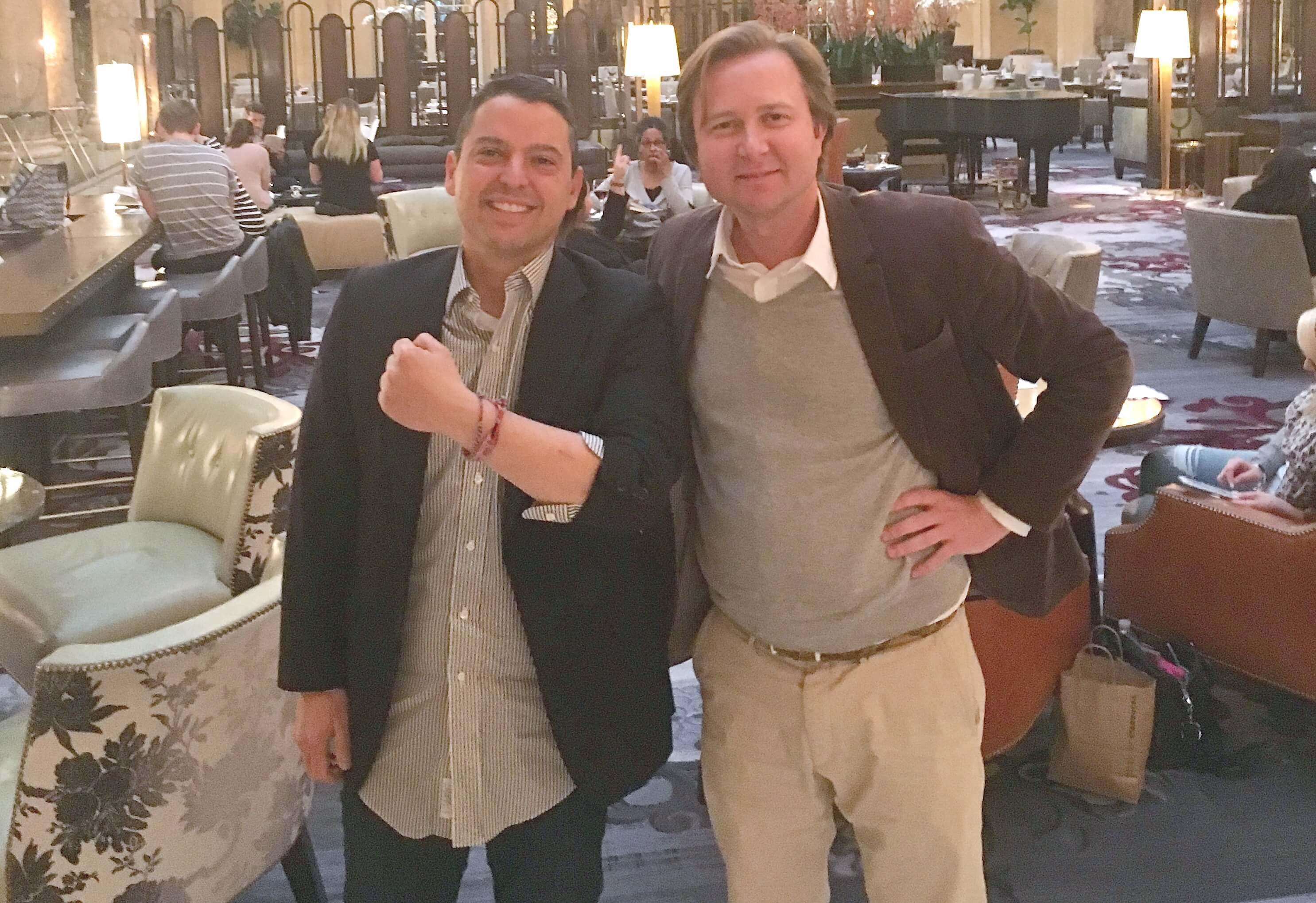 saved life entrepreneur Ricardo Ibarra & Alexander Börve Skin cancer Malignant Melanoma San Francisco