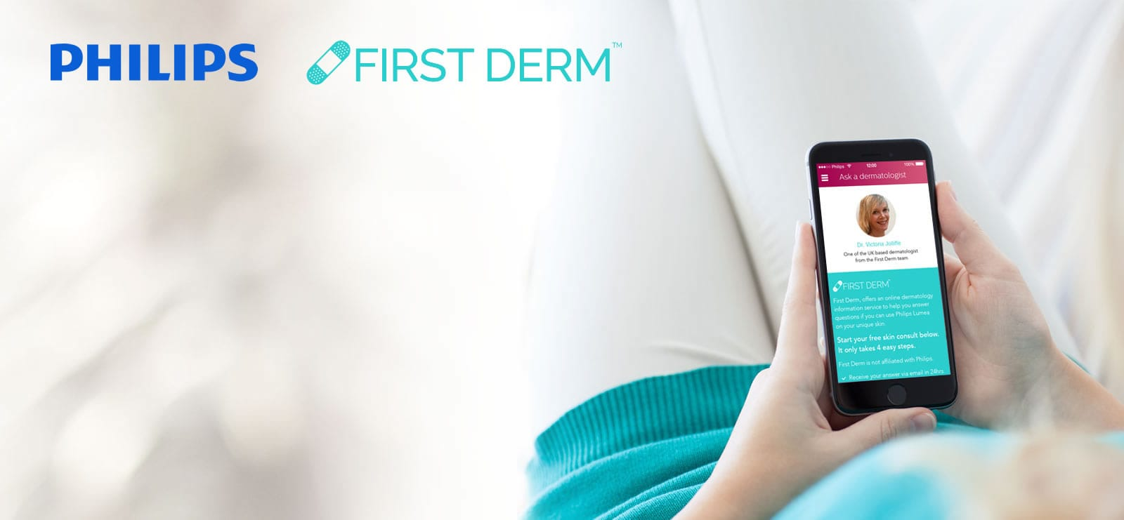 First Derm partners with Philips to deliver a customer online dermatology  service